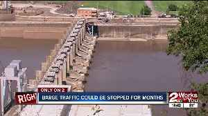 Arkansas River barge traffic could be stopped for months [Video]