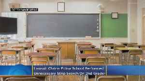 Lawsuit: Edina School Performed Unnecessary 'Strip' Search On 2nd-Grader [Video]