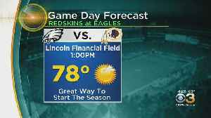 Philadelphia Weather: Eagles Gameday Forecast [Video]