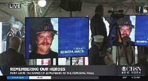 Never Forget: FDNY Adds 22 To World Trade Center Memorial Wall [Video]