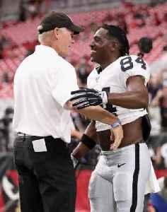Antonio Brown Denies Calling Raiders GM a 'Cracker' [Video]