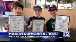 Local boy wins Oregon spelling championship [Video]