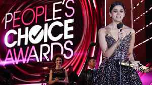 Alia Bhatt Becomes FIRST Indian Actress To Be NOMINATED At People's Choice Awards 2019 [Video]