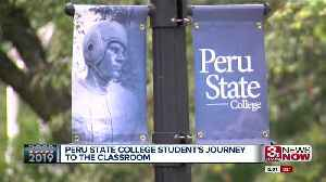 Peru State student overcomes obstacles during flooding [Video]