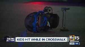 Witness to crash involving two children in Tempe speaks [Video]