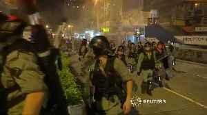 Violence and vandalism in Hong Kong [Video]
