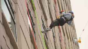 'Over The Edge' Event Raises Money For Cancer Research [Video]