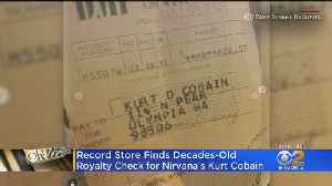 Eye On Entertainment: Record Store Finds Decades-Old Royalty Check For Kurt Cobain [Video]