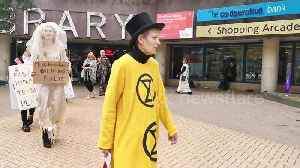 Extinction Rebellion stages protest against fashion industry [Video]