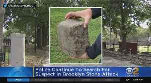 Search For Suspect In Stone Attack [Video]