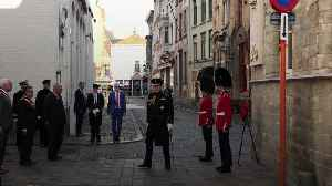 Duke of York marks Bruges anniversary in first major royal duty since Epstein death
