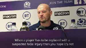 News video: Injury worries mount for Townsend ahead of World Cup