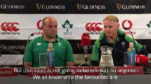 Joe Schmidt: World rankings far away from Ireland's thoughts [Video]