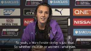 Weir 'privileged' to help City edge United to win first Manchester derby in Women's Super League [Video]
