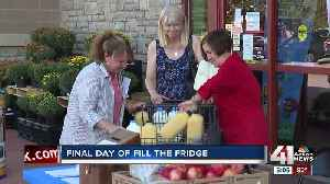 Last day to Fill the Fridge [Video]