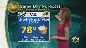 Philadelphia Weather: Eagles Season Opener Forecast [Video]