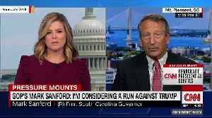 Republican Mark Sanford Announces He's Challenging Trump In 2020 Presidential Race [Video]