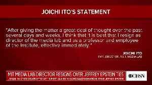News video: MIT Media Lab Director RESIGNS Over Ties To Jeffrey Epstein [VIDEO]