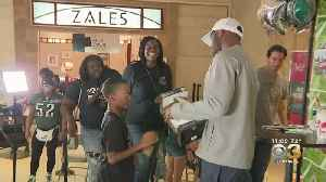 Nelson Agholor Helps Get Eagles Fans Pumped For Season Opener At Deptford Mall [Video]