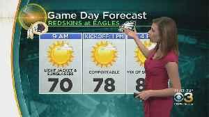 Eagles-Redskins Weather: Forecast For Birds' Season Opener At Linc [Video]