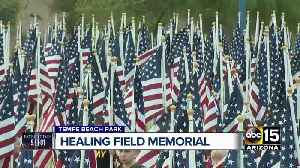Memorial held for Sept. 11 victims at Tempe Beach Park [Video]