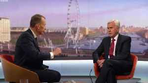 John McDonnell on Boris:  I don't trust him an inch