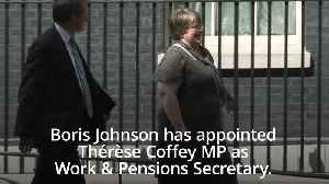 Therese Coffey replaces Amber Rudd in Cabinet as Work and Pensions Secretary [Video]