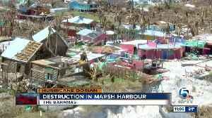 Destruction in Marsh Harbor [Video]
