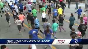 Thousands participate in Annual Fight for Air Corporate Cup in Aksarben Village [Video]