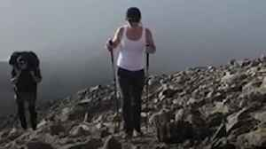Kay Burley conquers Three Peaks Challenge [Video]