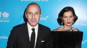 Matt Lauer And Annette Roque Finalize Divorce [Video]