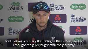News video: Australia keep the Ashes but Root's proud of his players