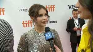 Felicity Jones On Reuniting With Eddie Redmayne [Video]