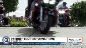 Patriot tour returns to Beaver Dam after 110-day journey [Video]