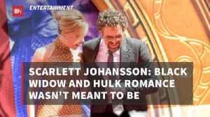 The Romance Between Hulk And Black Widow [Video]