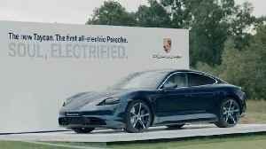 Porsche European Open 2019 - Video Golfpros encounter the Porsche Taycan Turbo [Video]