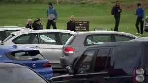 Prince Andrew visits Royal Portrush Golf Club [Video]