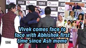 Vivek comes face to face with Abhishek first time since Ash meme [Video]