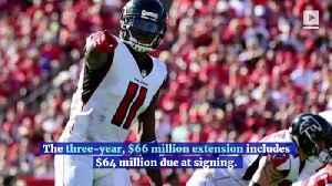 Julio Jones Becomes NFL's Highest-Paid Wide Receiver [Video]