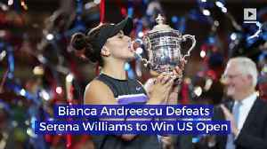 Bianca Andreescu Defeats Serena Williams to Win US Open [Video]