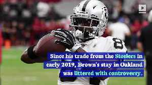 Antonio Brown Lands With Patriots After Raiders Release [Video]