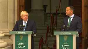 News video: 'I want to get a deal': UK PM Johnson