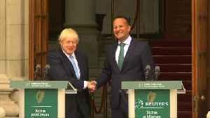 Irish PM Varadkar says: no-backstop equals no-deal Brexit [Video]