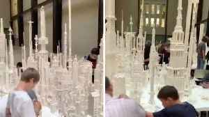 JUST ANOTHER BRICK IN THE WALL: AMAZING STRUCTURES COME TO LIFE AT PUBLIC LEGO EXPO AT LONDON TATE MODERN [Video]