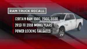 Ram adds 693K pickups in US to recall as tailgates could open while driving [Video]