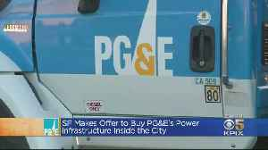 San Francisco Offers $2.5 Billion to Buy PG&E Electricity Infrastructure [Video]
