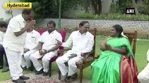 Telangana CM expands cabinet, 6 ministers take oath [Video]