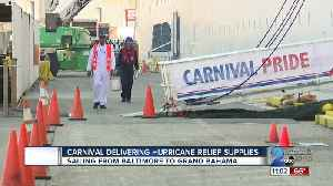 News video: Carnival Pride bringing Hurricane Dorian relief supplies for Bahamian residents from Baltimore
