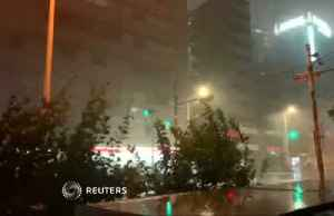 Typhoon Faxai hits Japan [Video]