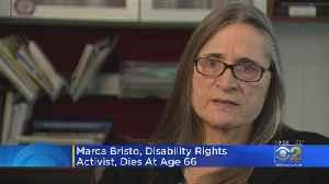 Remembering Disability Rights Advocate Marca Bristo [Video]